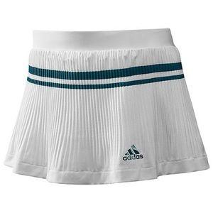 NWOT Adidas 'Adipure' White & Teal Pleated Skort-M
